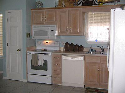 panama city beach rental kitchen