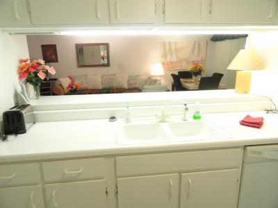 Two Bedroom Kitchen with Counter
