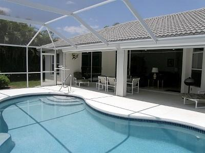 Naples florida pool home rental