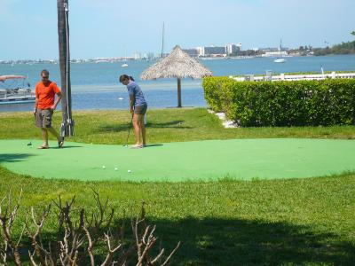 Putting Green on the Water