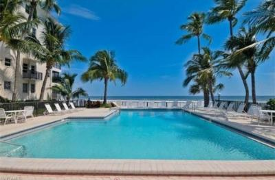 Pool and Gulf of Mexico
